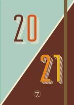 Kalender 7.sans Ukeplan Retro A5 20/21