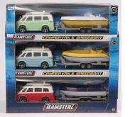 Leke Teamsterz Campervan Med Speedbåt 25 cm