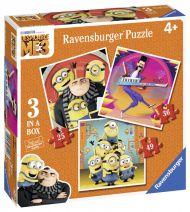 Puslespill 3i1 Minions Ravensburger