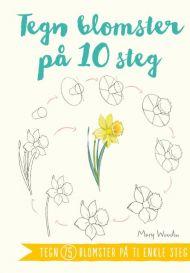 Tegn blomster på 10 steg