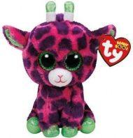 Bamse Ty Gilbert Giraffe Pink Clip