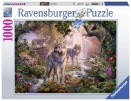 Puslespill 1000 Ulver i Sommeren Ravensburger