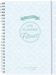 Kalender 2021 Life Planner Fitness A5 Uke