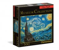 Puslespill 500 Square Starry Night Clementoni