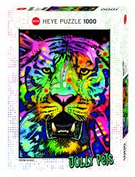 Puslespill 1000 Wild Tiger Heye