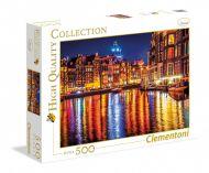 Puslespill 500 Amsterdam Clementoni