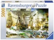 Puslespill 5000 Ship Battle Ravensburger
