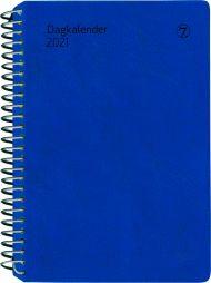 Dagbok 2021 7.sans Dagkalender Dag A6 Blå