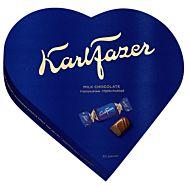 Melkesjokolade Karl Fazer Heart box 225g