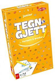 Spill Tegn Og Gjett Junior Reisespill