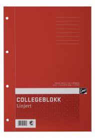 Collegeblokk Emo A4 60g 80bl linjer (2)