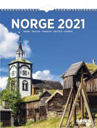 Billedkalender Grieg Norge 2021
