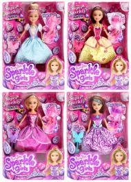 Sparkle Girlz - Princess Dukke m/Utstyr