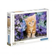 Puslespill 500 Ginger Cat Clementoni