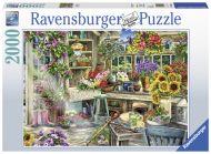 Puslespill 2000 Gartnerens Paradis Ravensburger