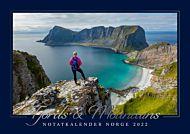 Kalender 2022 Notat Fjord & Mountains
