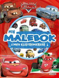 Malebok Wd Biler Med Klistremerker