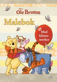 Malebok Wd Ole Brumm Med Klistremerker
