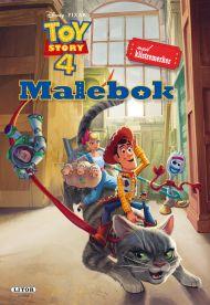 Malebok WD Toy Story 4 Med Klistremerker