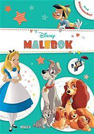 Malebok Disney m/klistremerker