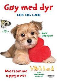 Lek Og Lær Bok Gøy Med Dyr Valp
