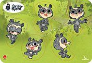 Knottepuslespill 5 Biter Brillebjørn