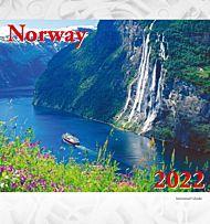 Postkortkalender 2022 Norway