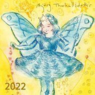 Kalender 2022 Björg Thorhallsddottir Kvadratisk