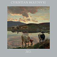 Kalender 2021 30x30cm Christian Skredsvig