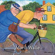 Kalender 2021 30x30cm Marit Walle