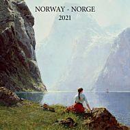 Kalender 2021 30x30cm Norske Kunstnere