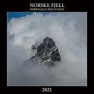 Kalender 2021 30x30cm Norske Fjell