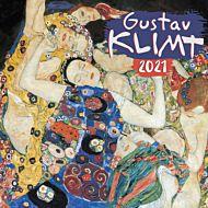 Kalender 2021 18x18cm Klimt