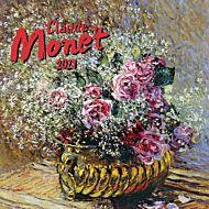 Kalender 2021 18x18cm Monet