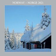 Kalender 2021 18x18cm Norge