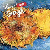 Kalender 2021 18x18cm Van Gogh