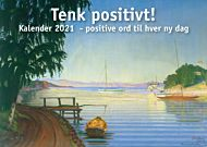 Bordkalender 2021 150x105x40mm Positiv