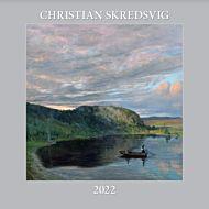 Kalender 2022 Christian Skredsvig 30X30cm