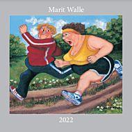 Kalender 2022 Marit Walle 30X30cm