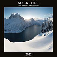 Kalender 2022 Norske Fjell 30X30cm