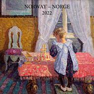 Kalender 2022 Norske Kunstnere 18X18cm