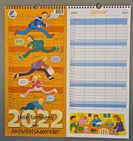 Kalender Aktivitetsplanlegger 2021