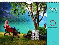 Veggkalender Et år i Norge 2021