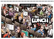 Veggkalender 2021 Lunch A4 m/spiral