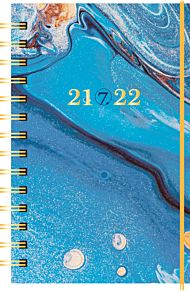 7.sans Kalender 21/22 Neon, kartong, spiralisert