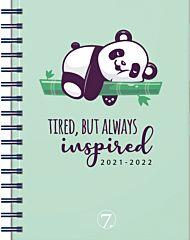 7.sans Kalender 21/22 Dagplan Panda A6