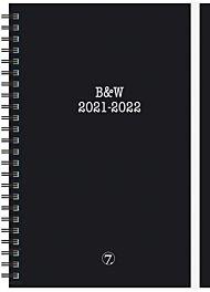 7.sans Kalender 21/22 Planner B&W A5