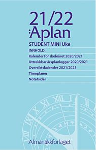 Aplan Student 21/22 Mini Uke årssett
