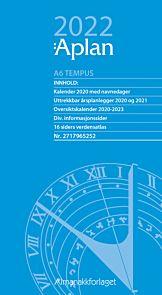 Aplan Kalender 2022 A6 Tempus dag årssett