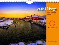 Veggkalender Et År I Norge, M/Magnetring